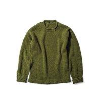 GREEN CLOTHING グリーンクロージング【予約商品】9月〜11月入荷予定|18-19 BRITISH WOOL SWEATER (セーター)