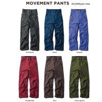 GREEN CLOTHING グリーンクロージング【予約商品】9月〜11月入荷予定|18-19 MOVEMENT PANTS (ムーブメントパンツ)