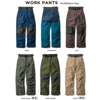 GREEN CLOTHING グリーンクロージング【予約商品】9月〜11月入荷予定|18-19 WORK PANTS (ワークパンツ)
