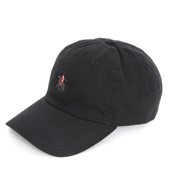 Nasngwam ナスングワム|GERONIMO CAP (ブラック)(ジェロニモキャップ ニューハッタン)