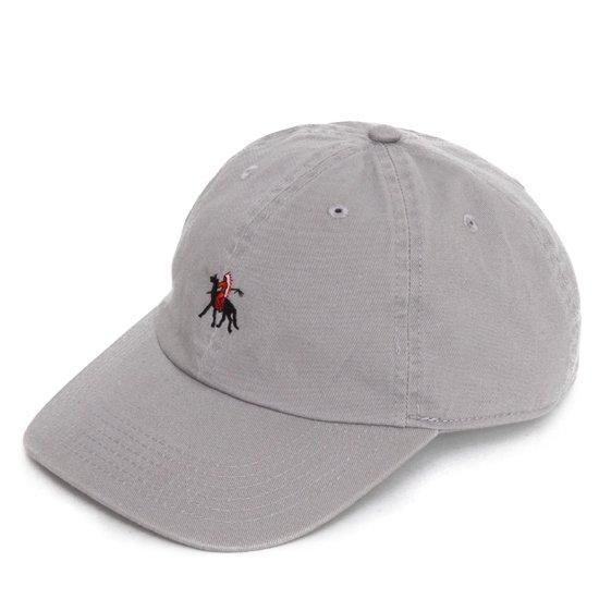 Nasngwam ナスングワム|GERONIMO CAP (グレイ)(ジェロニモキャップ ニューハッタン)