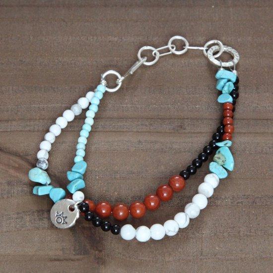 Tsunai Haiya ツナイハイヤ|beads anklet (B)(アンクレット)