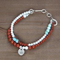 Tsunai Haiya ツナイハイヤ|beads anklet (A)(アンクレット)