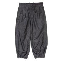 Jackman ジャックマン|JM4806 Stretch BB Trousers (ヘザーブラック)(ベースボールトラウザース)