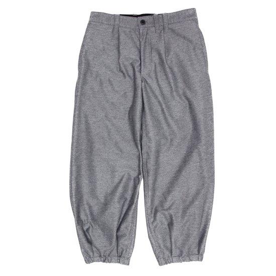 Jackman ジャックマン|JM4806 Stretch BB Trousers (粗挽きグレイ)(ベースボールトラウザース)
