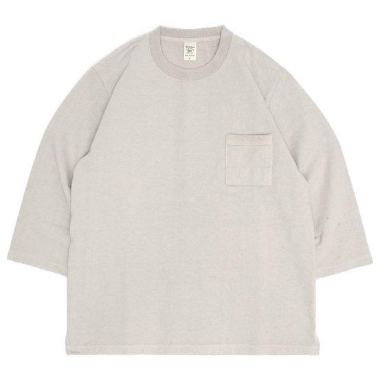 Jackman ジャックマン|JM5807 Dotsume 1/2 Sleeved T-Shirt (ダーティベース)(五分袖TEE)