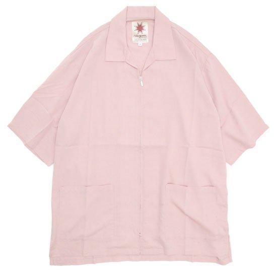 Nasngwam ナスングワム|ELLIS S/S JACKET (ピンク)(エリスジャケット)