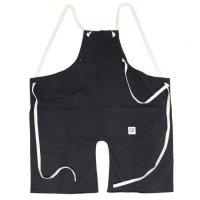 suolo スオーロ|onG apron (ブラック)(エプロン)