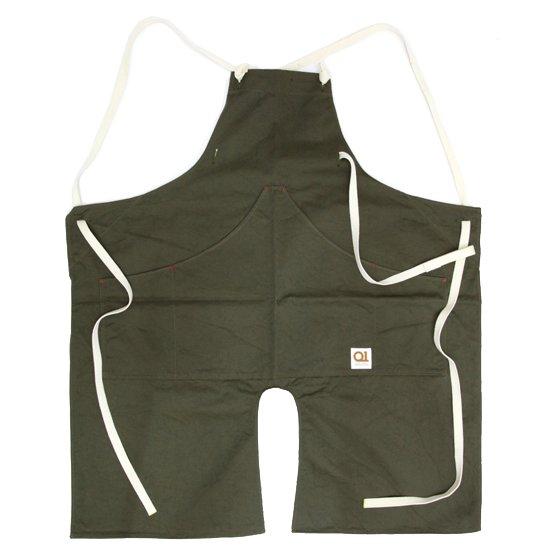 suolo スオーロ|onG apron (カーキ)(エプロン)
