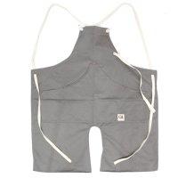 suolo スオーロ|onG apron (グレー)(エプロン)