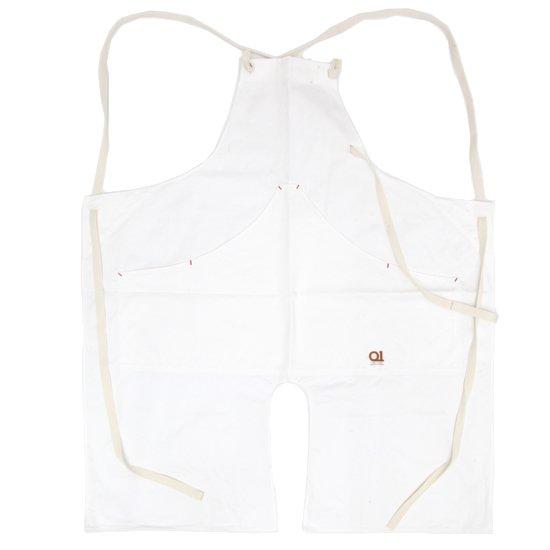 suolo スオーロ|onG apron (ホワイト)(エプロン)