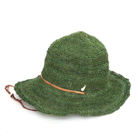 GO HEMP ゴーヘンプ HIGHLAND HAT (グリーン)(ハイランドハット)