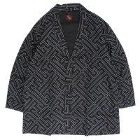 Phatee ファティー|HAPPI JACKET LINEN (ブラック)(ハッピジャケット リネン)