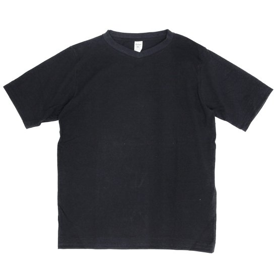 Jackman ジャックマン|JM5814 Vneck T-Shirt (ブラック)(VネックTEE)