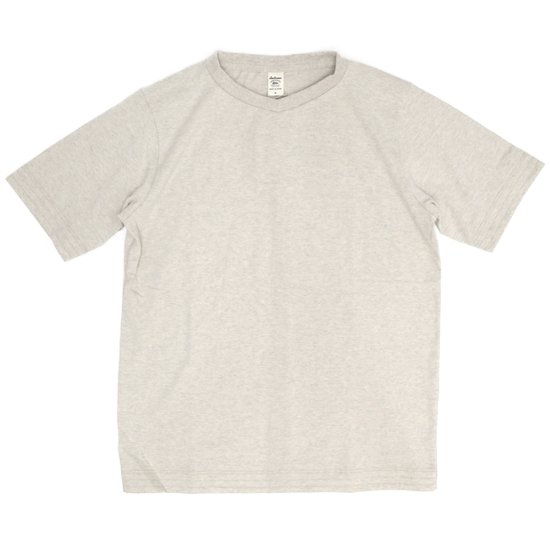 Jackman ジャックマン|JM5814 Vneck T-Shirt (アイボリー)(VネックTEE)