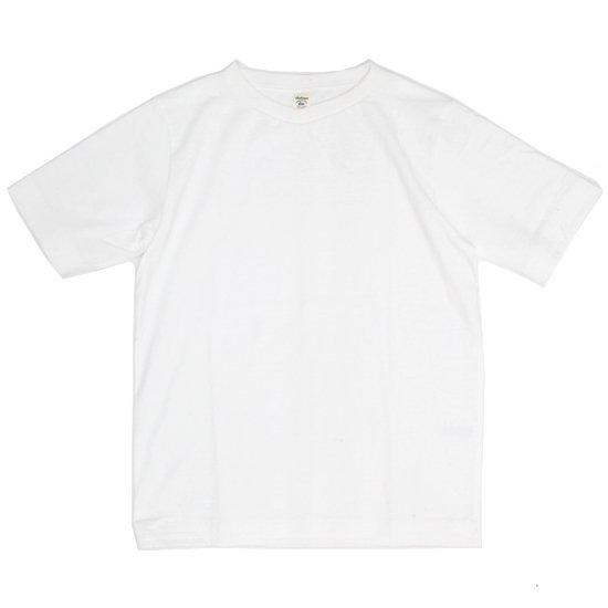 Jackman ジャックマン|JM5814 Vneck T-Shirt (ホワイト)(VネックTEE)