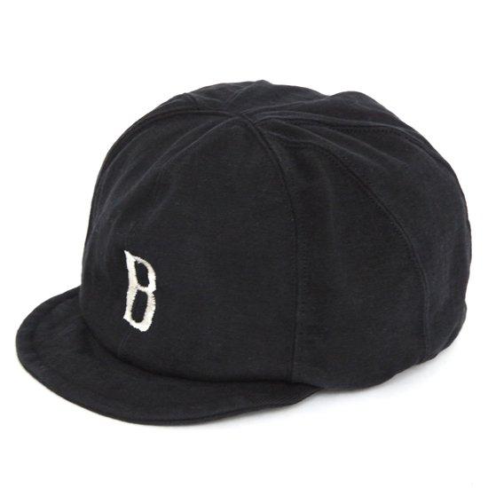 Jackman ジャックマン|JM6757 Baseball Cap (ブラック)(ベースボールキャップ)