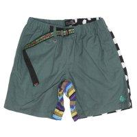 ALDIES アールディーズ|Climbing Short Pants (グリーン)(クライミングショートパンツ)