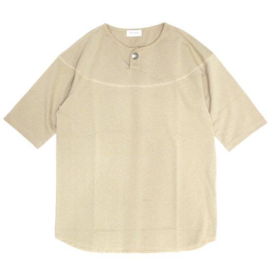 SPINNER BAIT スピナーベイト|BD天竺 コンチョ S/S TEE (ベージュ)(Tシャツ)