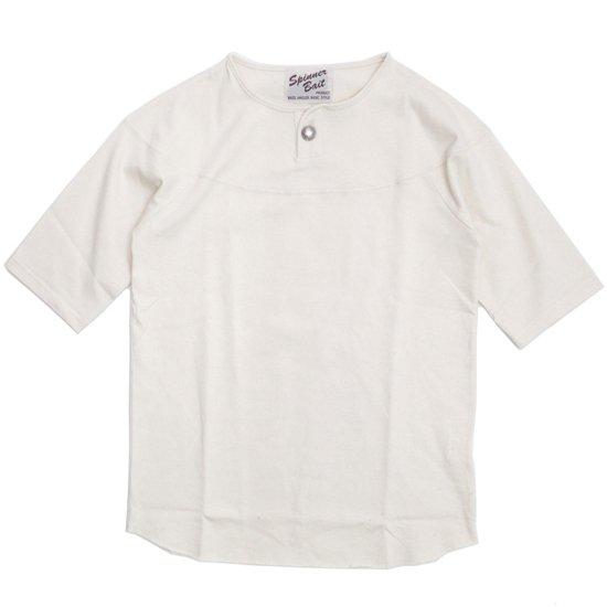 SPINNER BAIT スピナーベイト|BD天竺 コンチョ S/S TEE (オフホワイト)(Tシャツ)