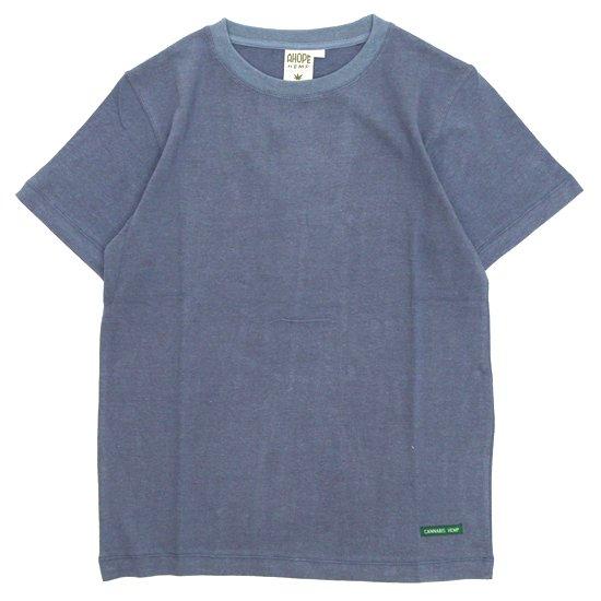 A HOPE HEMP アホープヘンプ|Regular S/S Tee (ミッドナイト)(ヘンプコットン Tシャツ)
