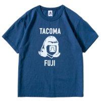 TACOMA FUJI RECORDS タコマフジレコード|LOGO MARK '18 TEE (ネイビー)(プリントTシャツ)