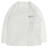 remilla レミーラ|ジネンヒトエラグラン (ホワイト杢)(長袖Tシャツ)