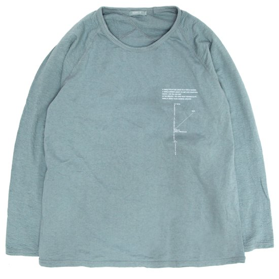 remilla レミーラ|ジネンヒトエラグラン (ペールブルー)(長袖Tシャツ)