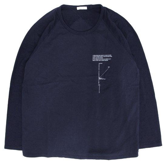remilla レミーラ|ジネンヒトエラグラン (ネイビー)(長袖Tシャツ)