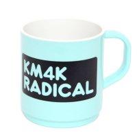 KM4K カモシカ|MAGCUP (ブルー)(マグカップ ecomate)