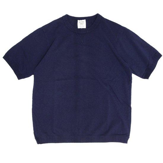 Jackman ジャックマン|JM5632 Rib T-shirt (ネイビー)(リブTEE)