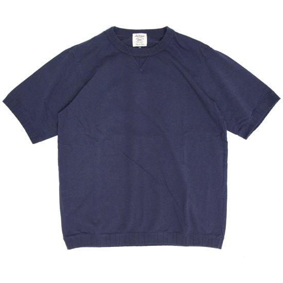 Jackman ジャックマン|JM5632 Rib T-shirt (クラシックネイビー)(リブTEE)