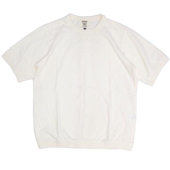 Jackman ジャックマン|JM5632 Rib T-shirt (アイボリー)(リブTEE)