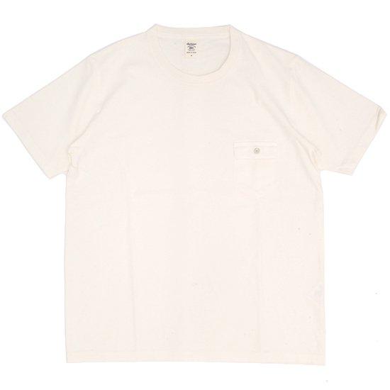 Jackman ジャックマン|JM5550 Pocket T-shirt (アイボリー)(ポケTEE)