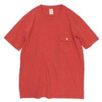 Jackman ジャックマン|JM5550 Pocket T-shirt (バーミリオン)(ポケTEE)