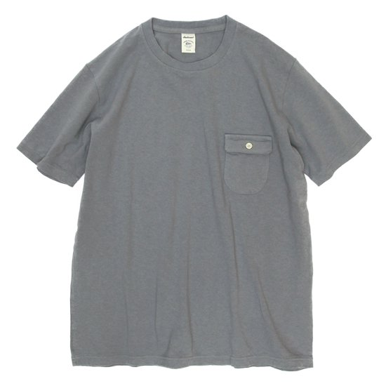 Jackman ジャックマン|JM5550 Pocket T-shirt (グレイ)(ポケTEE)
