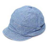 remilla レミーラ|シャンブレーシコロ帽 (ライトインディゴ)(キャップ 日除け帽)