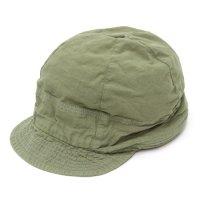 remilla レミーラ|シャンブレーシコロ帽 (サンドカーキ)(キャップ 日除け帽)