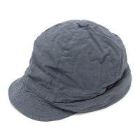 remilla レミーラ|シャンブレーシコロ帽 (チャコール)(キャップ 日除け帽)