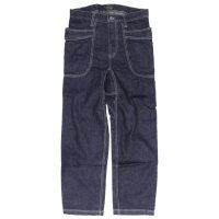 GO HEMP ゴーヘンプ|VENDER BASIC PANTS INDIGO DENIM (ワンウォッシュ)(ベンダーパンツ)