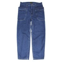 GO HEMP ゴーヘンプ|VENDER BASIC PANTS INDIGO DENIM (ユーズドウォッシュ)(ベンダーパンツ)
