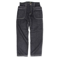 GO HEMP ゴーヘンプ|VENDER BASIC PANTS BLACK DENIM (ワンウォッシュ)(ベンダーパンツ)