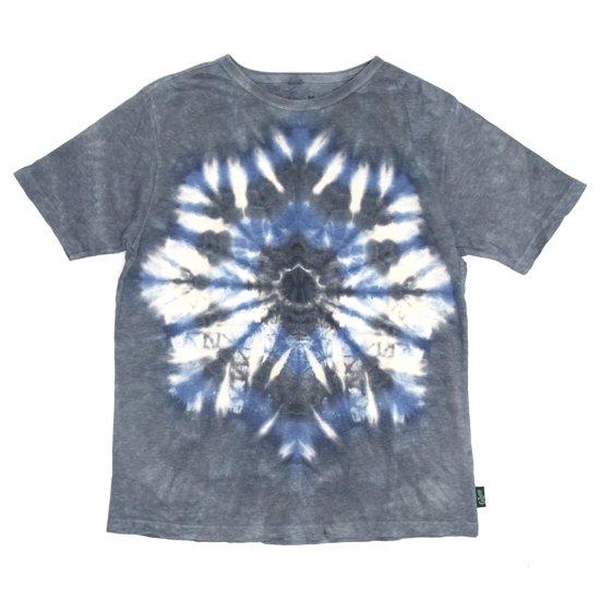 GO HEMP ゴーヘンプ|DEAD DYE DARK HOLLOW S/SL TEE (ブラック)(タイダイTシャツ)