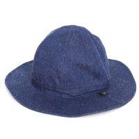 GO HEMP ゴーヘンプ|H/C SLUB NEP HOBO HAT (ブルー)(デニムハット)