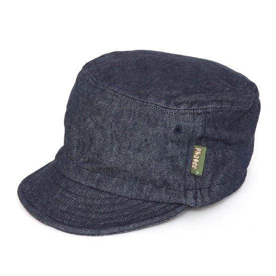 Phatee ファティ|HALF CAP (インディゴデニム)(ハーフキャップ)