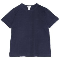 BETTER ベター|MID WEIGHT CREW NECK TEE (ネイビー)(無地TEE)