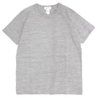 BETTER ベター|MID WEIGHT CREW NECK TEE (グレイメランジ)(無地TEE)