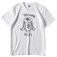 TACOMA FUJI RECORDS タコマフジレコード|タコマ姉さん (ホワイト)(プリントTシャツ)