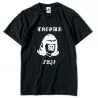 TACOMA FUJI RECORDS タコマフジレコード|HAND LETTERING LOGO TEE (ブラック)(プリントTシャツ)