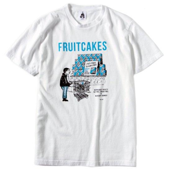 TACOMA FUJI RECORDS タコマフジレコード|FRUITCAKES DUB DIET CLUB TEE (ホワイト)(プリントTシャツ)